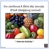 French – Food Shopping in Paris, France