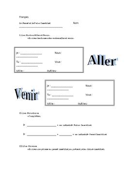 French Immediate Past and Immediate Future (Aller, Venir de)