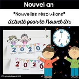 French Nouvel An New Year Craftivity 2015 Flapbook