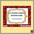 French Oral and Listening Activity – un jeu de dominos
