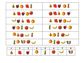 French Speaking Activity to Practice Fruit