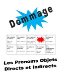 French Direct and Indirect Object Pronouns Speaking Activi