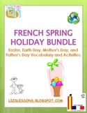 French Spring Holiday Bundle: March-June Holiday Vocabular
