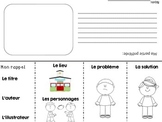 French Story Elements retelling flap book for any book (un