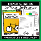 French Tour de France - mini-unit