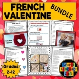 French Valentine's Day Lesson Plan, Over 50 Love Expressio