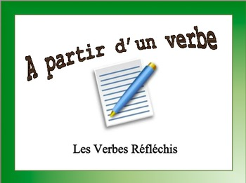 French Verb Form Practice with Sentences: Reflexive Verbs
