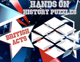 Hands on History-French and Indian War and British Acts Puzzle