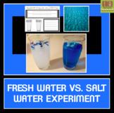 Fresh Water Vs. Salt Water Experiment
