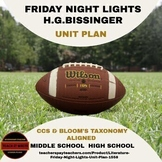 Literature - Friday Night Lights Unit Plan