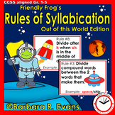 Friendly Frog's Rules of Syllabication (Out of this World