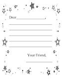Friendly Letter Outline (beginners)