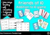 Addition to 10- Friends of 10 card game