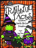 Addition: Frightful Facts ~ Halloween Color By The Number