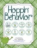 Frog Classroom Behavior