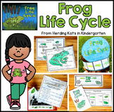 Frog Life Cycle Pack Including Observation Journal, Labeli