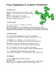 Frog Theme: Curriculum Ideas for Preschool or Kindergarten