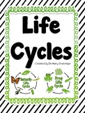 Frog and Butterfly Life Cycles- Compare & Contrast, Text E