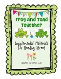 Frog and Toad Together Supplemental Materials for Reading Street
