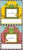 Frog locker cubbie  Nametags