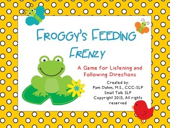 Froggy's Feeding Frenzy Game