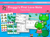 Froggy's First Love Note Theme Pack