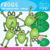 Frogs - Clipart / Graphics for Commercial and Personal Use