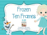 Frozen Ten Frames 0-20
