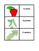 Frutta e Verdura games:  Concentration, Slap, Old Maid, Go Fish