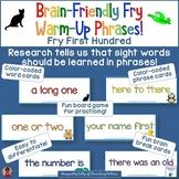 Sight Words: Fry Phrase Frolic With Brain Breaks