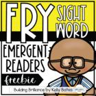 {SNEAK PEEK FREEBIE} Fry Sight Word Emergent Readers
