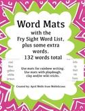 Fry Sight Word List Word Mats