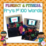 Fry Sight Words (1st 100) Fluency & Fitness Bundle
