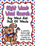 Fry's 100 Sight Words - Word Search