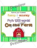 Fry's 1,000 Words ON THE FARM Set