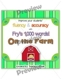 Fry's 1,000 Words ON THE FARM Set