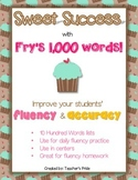 Fry's 1,000 Words SWEET SUCCESS Set