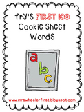 Fry's Sight Words First 100 Words-Magnetic Letter Mats!
