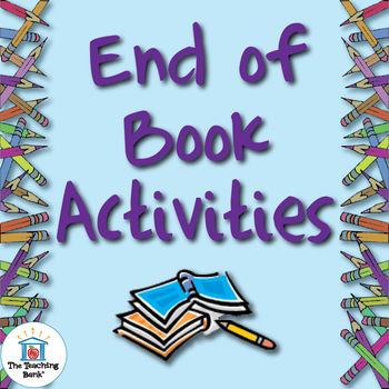 Fun Book Report Activity Ideas ~ Book Report Alternatives