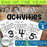 END OF YEAR Activities: Fun & Fresh!