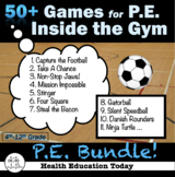 P.E. Unit: 50 Fun Lessons, Games and Activities (Inside th