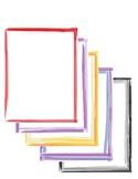 Fun Watercolor Borders - FREE Graphics
