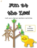 Fun at the Zoo! Math and Literacy Activities