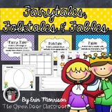 Fun with Fairy Tales, Folktales, and Fables! {A Common Cor