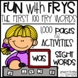 Fun with Frys! {Activities for the first 100 Fry Words} GR