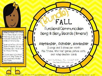 #SeptSLPMustHave Functional Communication Song & Story Boa
