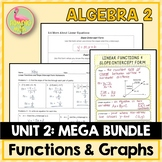 Unit 2: Functions Equations & Graphs (Bundled)