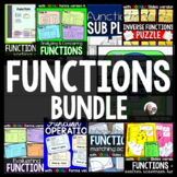 Functions MEGA Bundle {6 activities: sorting, tasks, match