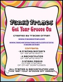 Funky Frames: Get Your Groove On Clip Art