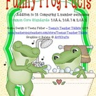 Funny Frog Facts Comparisons Addition True False 1.OA.6 1.